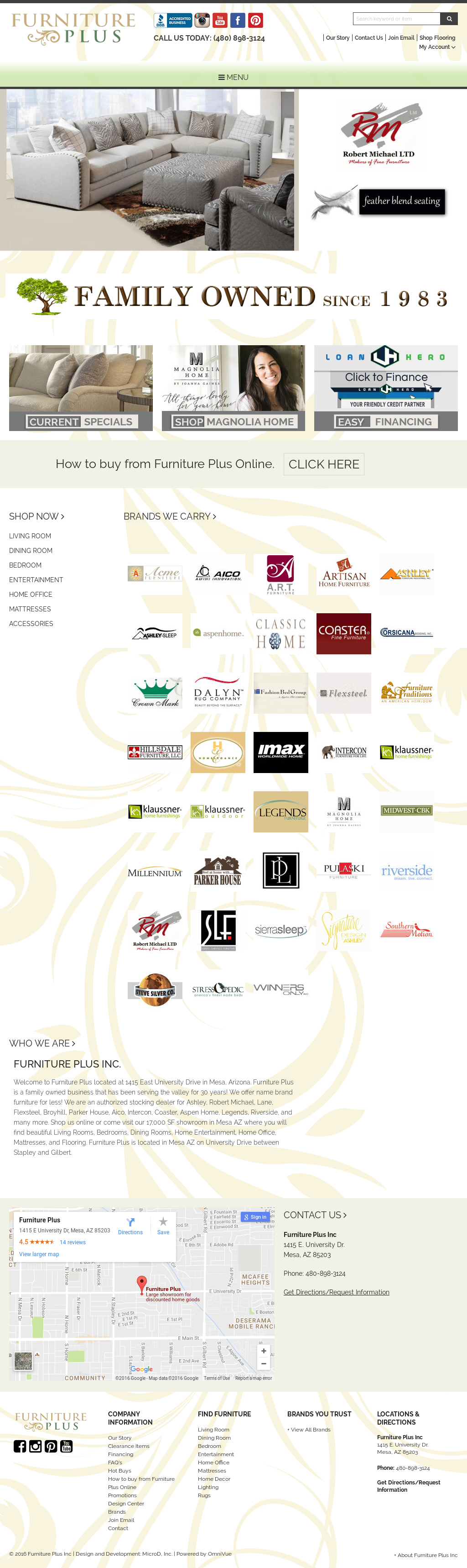 ... Furniture Plus Inc Mesa Az Furnitureplusinc Competitors Revenue And  Employees Owler Company Profile ...