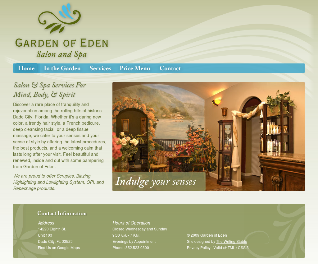 garden of eden salon day spa competitors revenue and. Black Bedroom Furniture Sets. Home Design Ideas