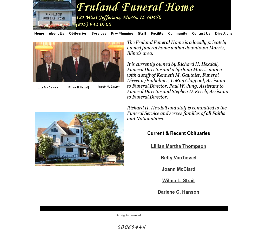 Fruland Funeral Home Competitors, Revenue and Employees