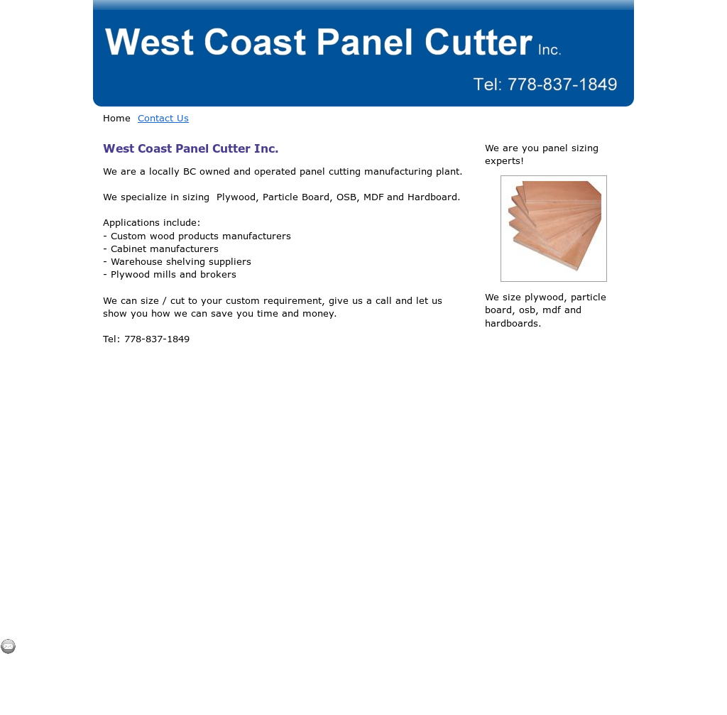 West Coast Panel Cutter Competitors, Revenue and Employees - Owler