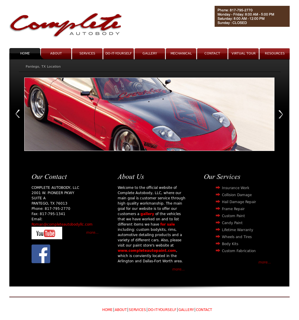 Complete Autobody Competitors Revenue And Employees