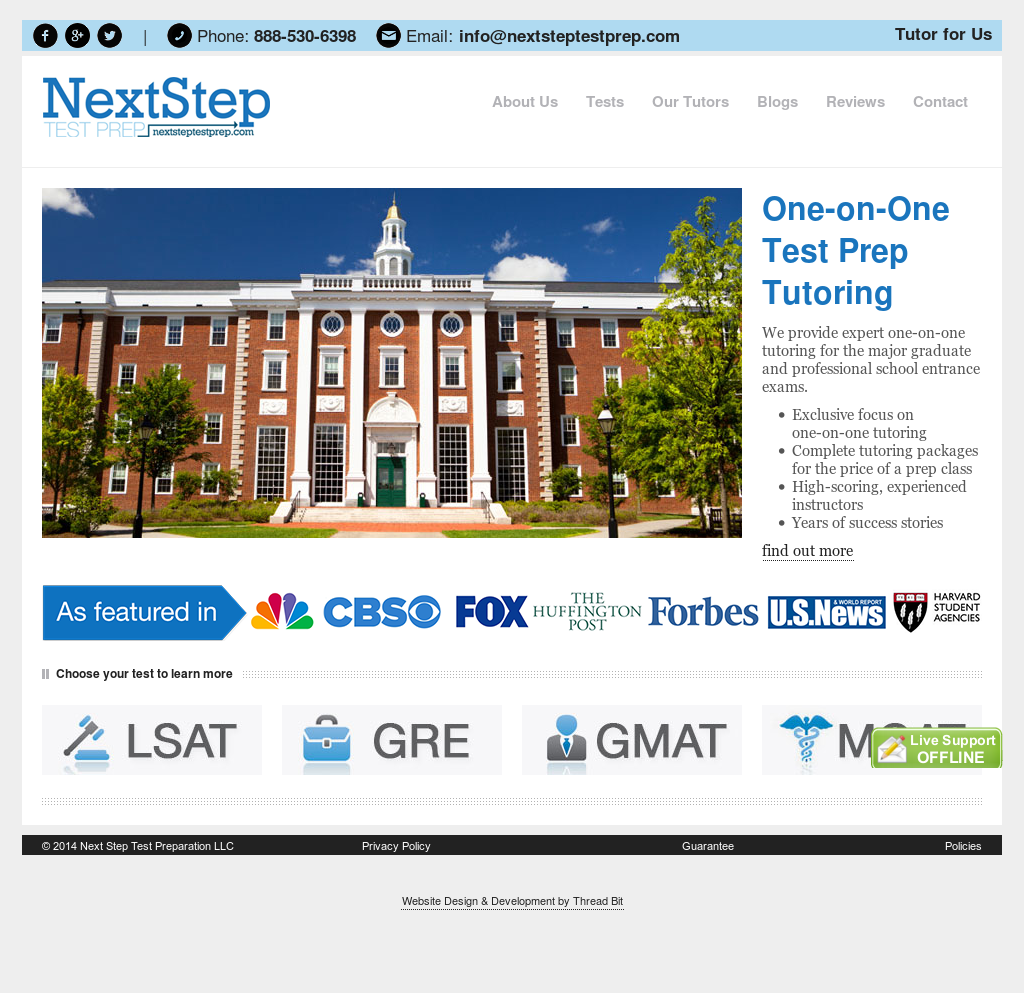 Next Step Test Prep Competitors, Revenue and Employees