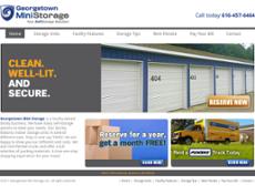 Georgetown Mini Storage Website History