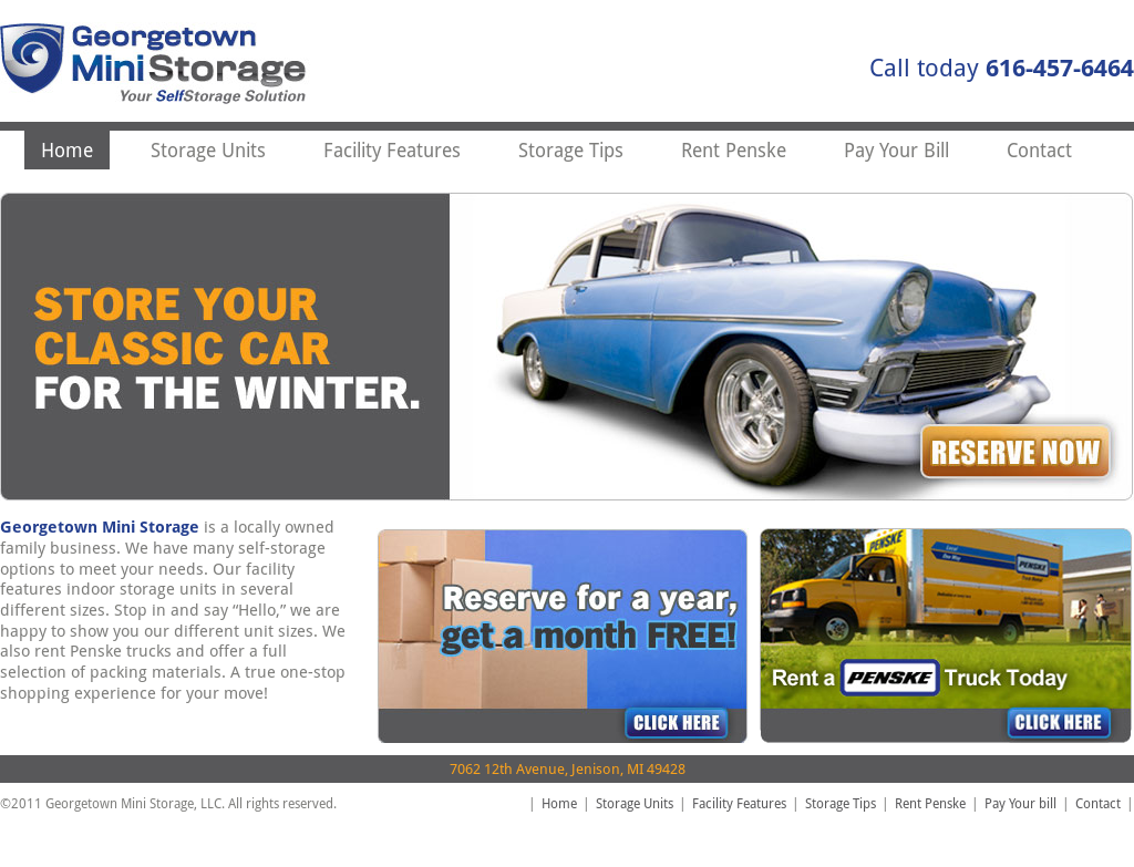 Superb Georgetown Mini Storage Website History