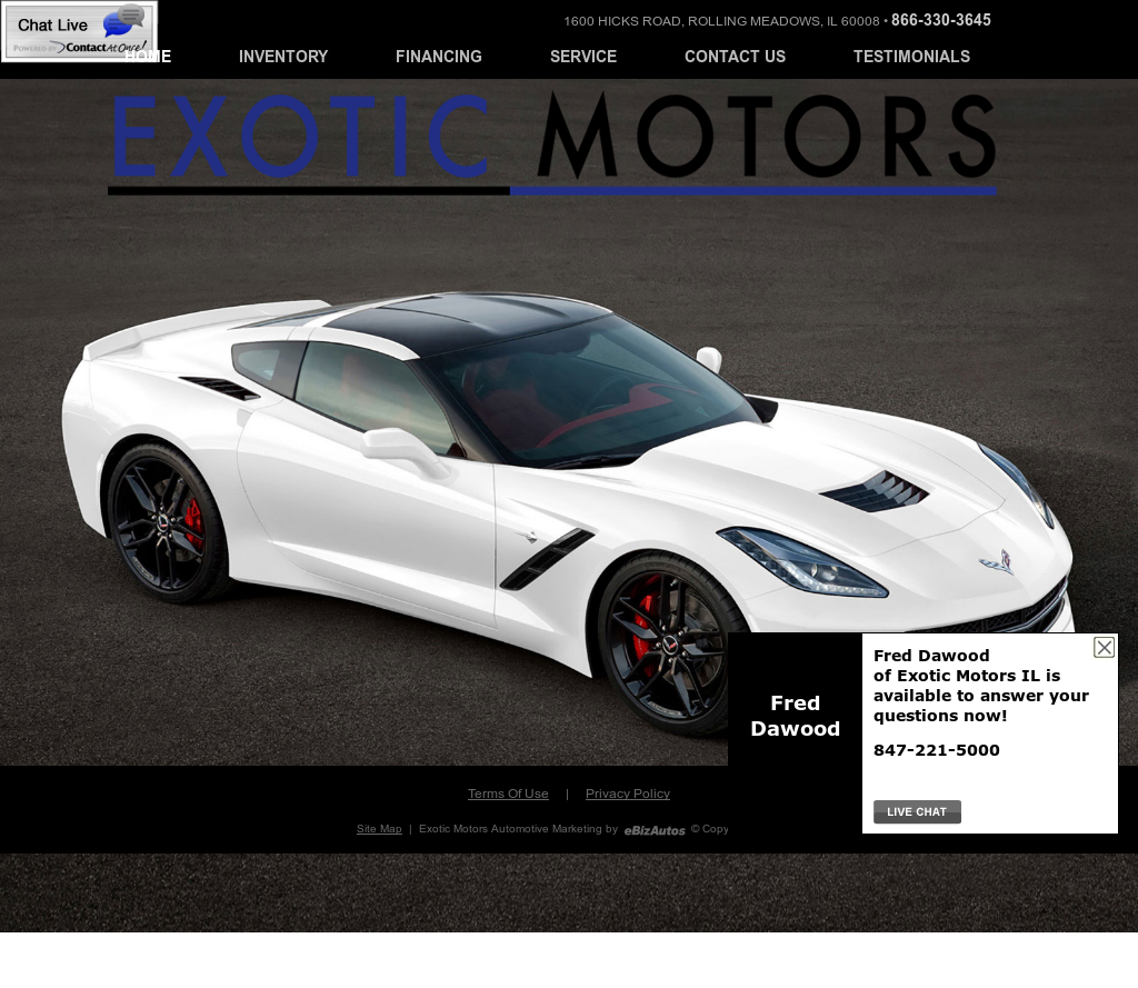 Exotic Motors Rolling Meadows Il
