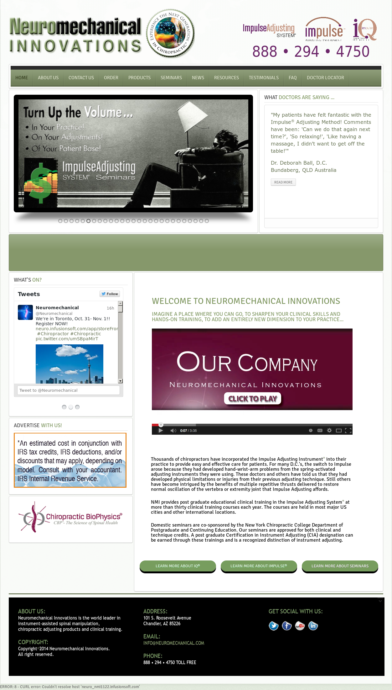 Neuromechanical Competitors, Revenue and Employees - Owler Company