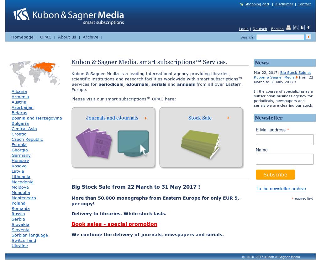 Kubon & Sagner Buchexport-import Competitors, Revenue and