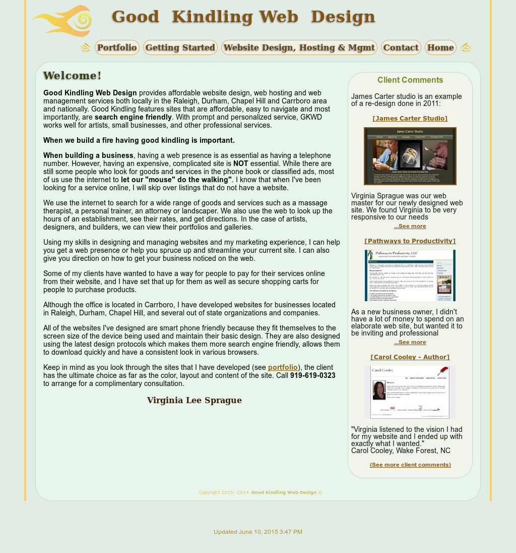 Good Kindling Web Design Competitors Revenue And Employees Owler Company Profile
