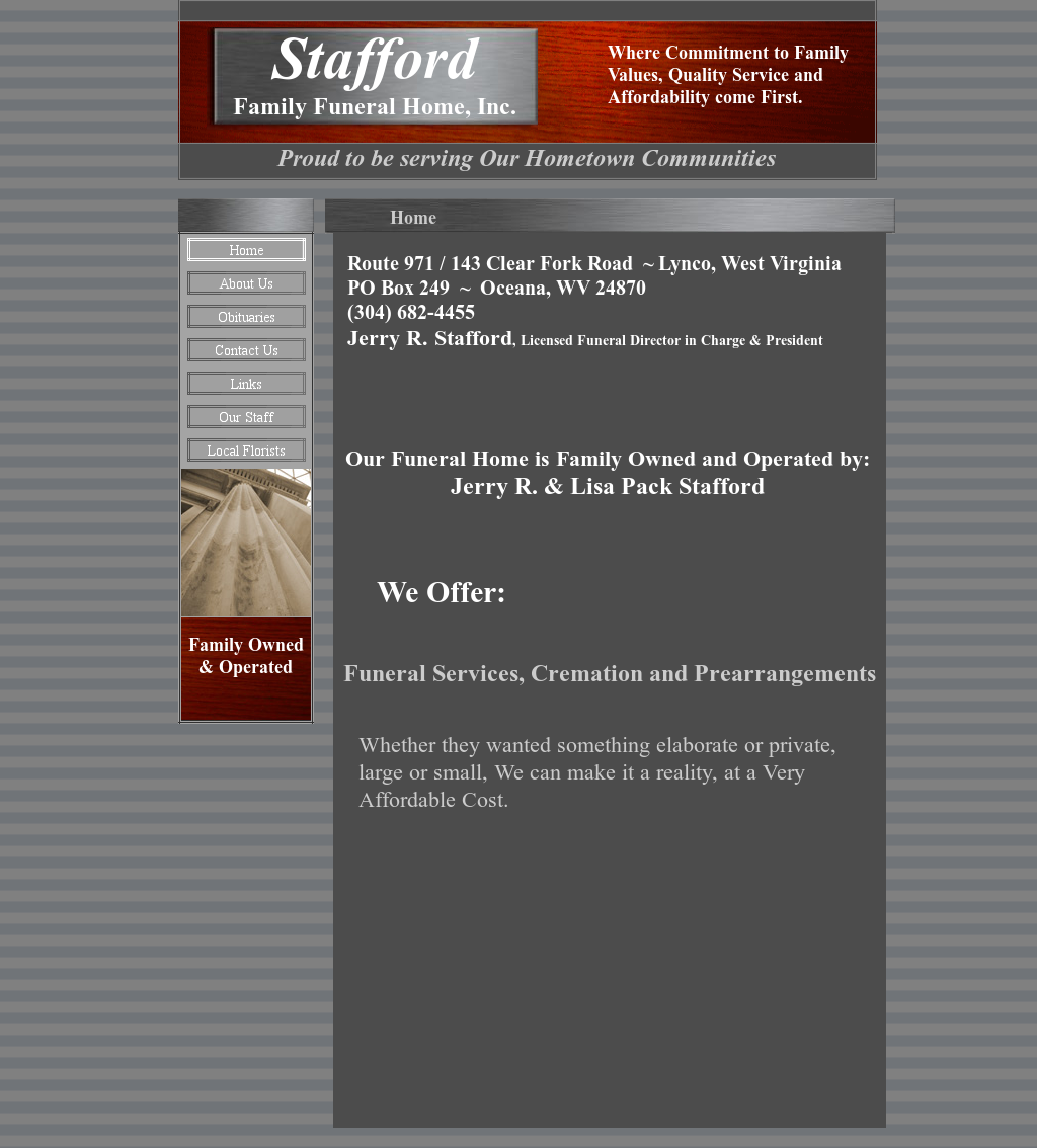 Stafford Family Funeral Home Competitors Revenue And Employees