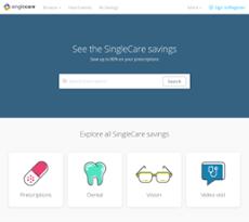 singlecare servicess website screenshot on sep 2017 - Singlecare Prescription Card