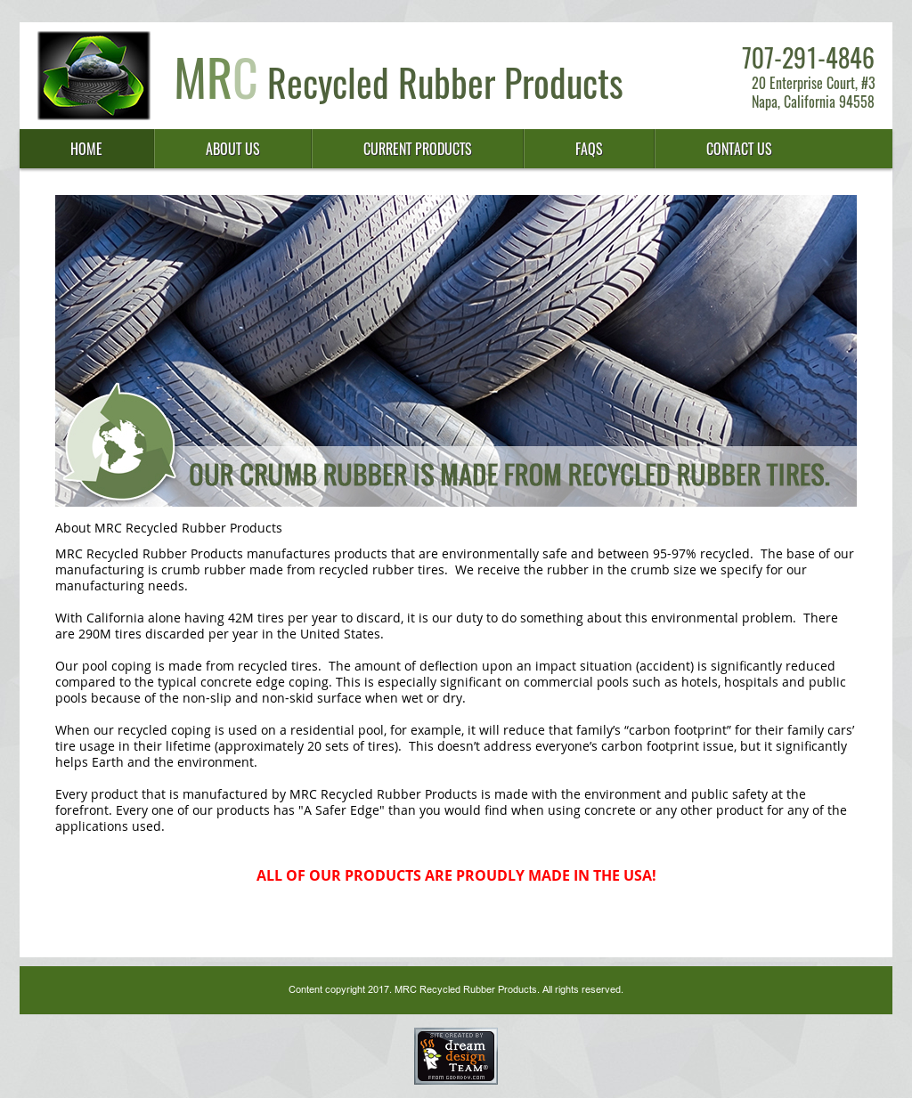 Mrc Recycled Rubber Products Competitors, Revenue and Employees