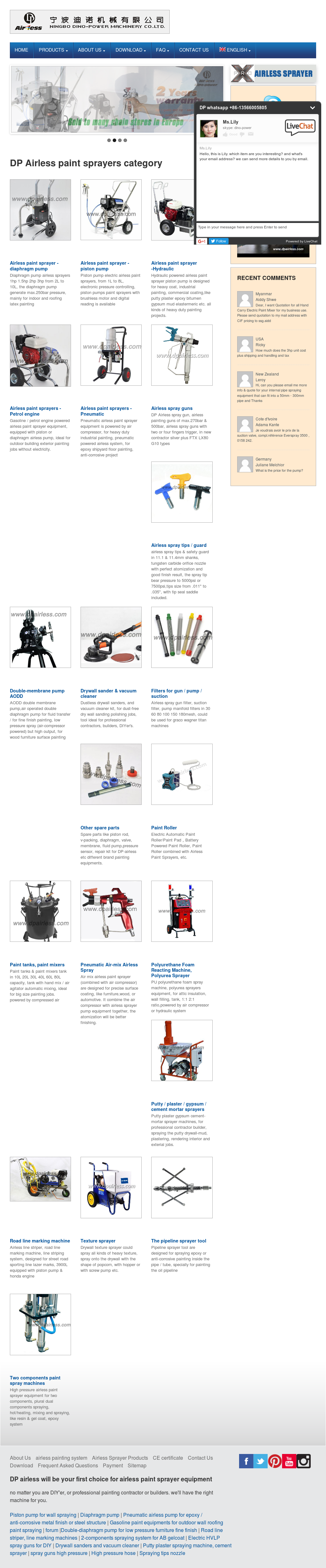 Dp airless sprayer competitors revenue and employees owler dp airless sprayer website history ccuart Images