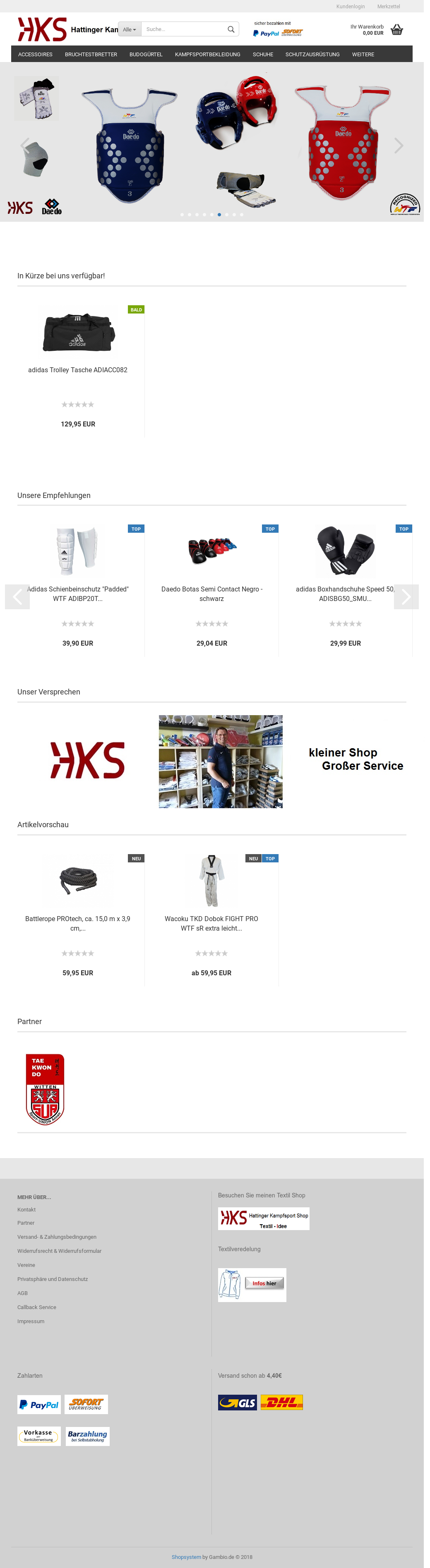 Hattinger Kampfsport shop Competitors, Revenue and Employees