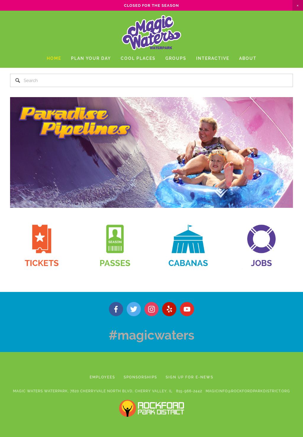 3449864e1bca Magic Waters Waterpark Competitors