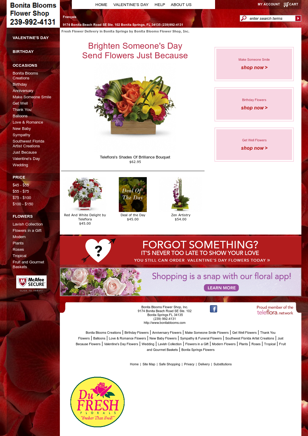 Bonita blooms flower shop competitors revenue and employees owler bonita blooms flower shop website history mightylinksfo