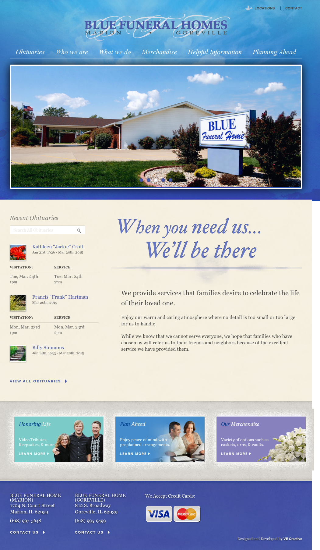 Blue Funeral Homes Competitors, Revenue and Employees