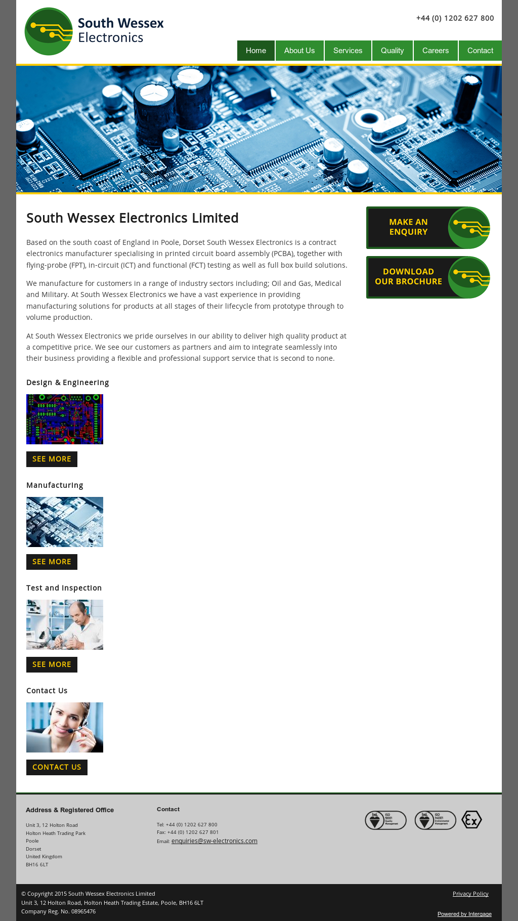 South Wessex Electronics Competitors Revenue And Employees Owler Printed Circuit Board Assembly Testing Company Profile