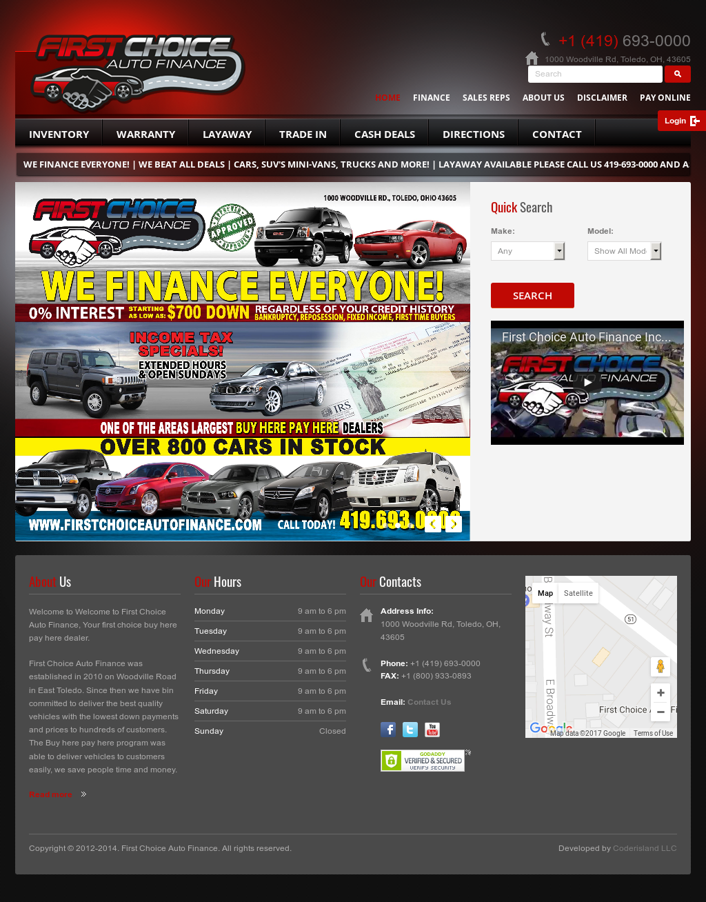 First Choice Auto Finance Competitors Revenue And Employees Owler