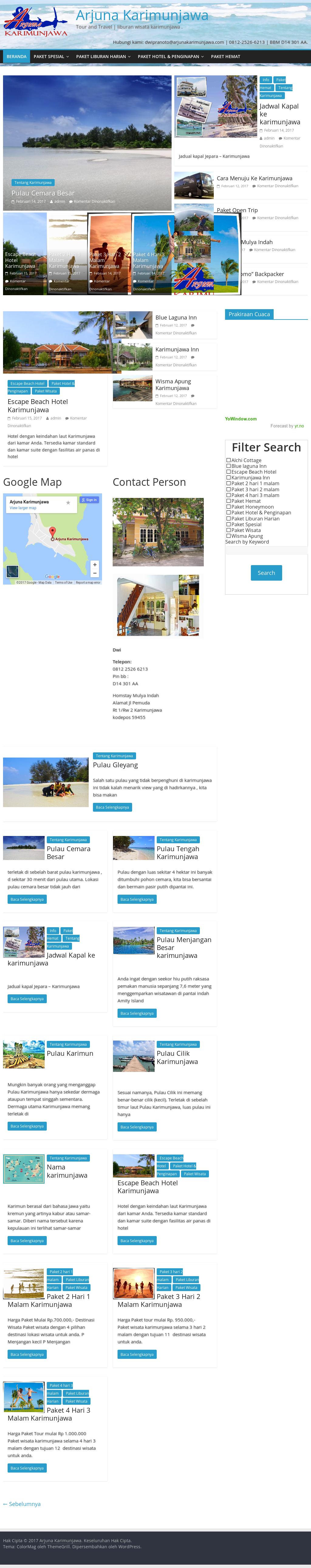 Arjuna Karimun Jawa Tour And Travel Competitors Revenue And