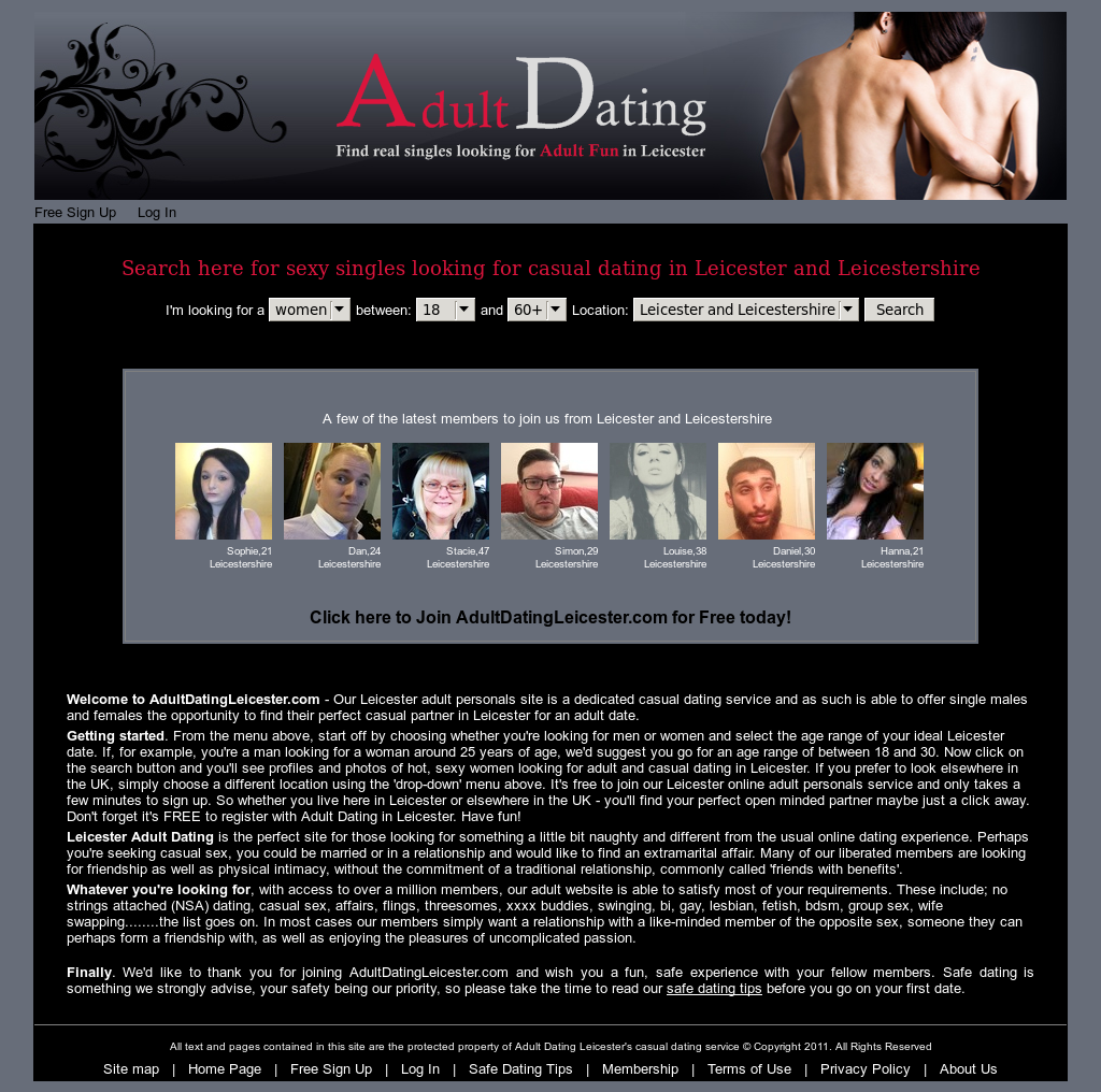 adult dating no sign up