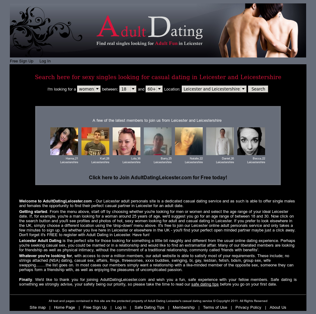 Leicestershire dating agency