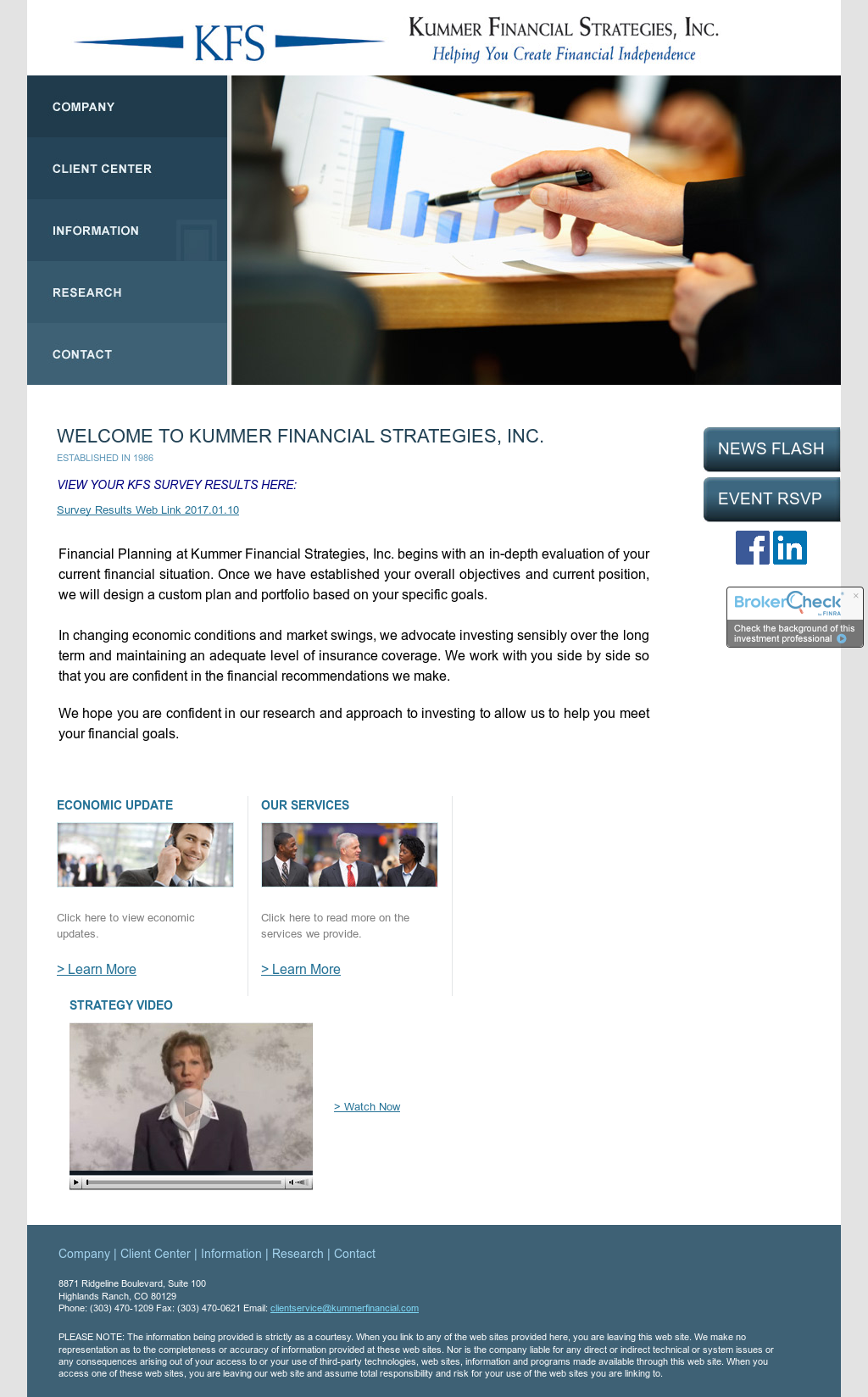 Kummer Financial Strategies Competitors, Revenue and