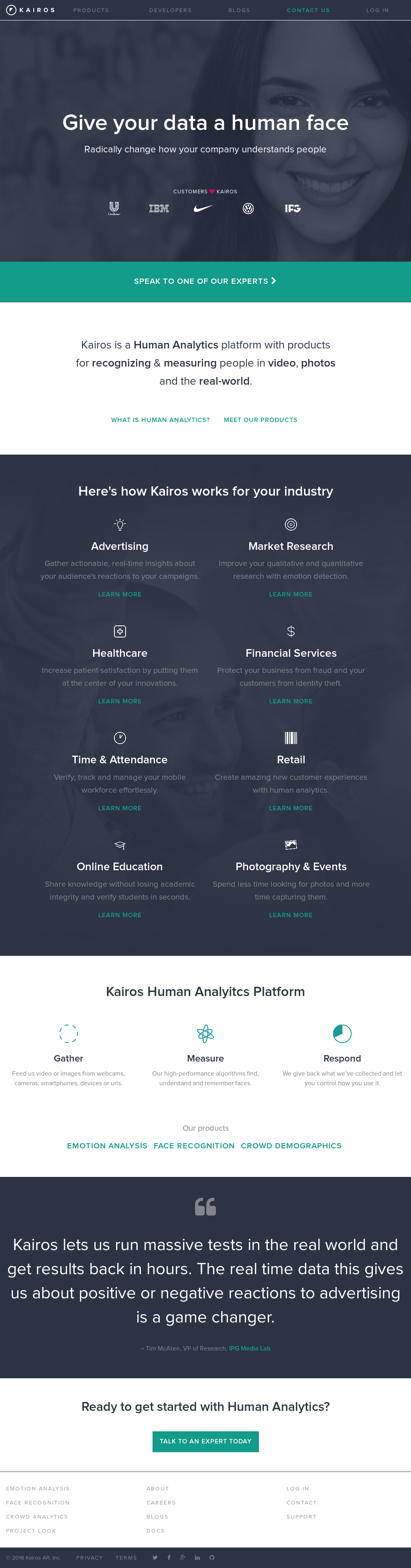 Kairos Competitors, Revenue and Employees - Owler Company