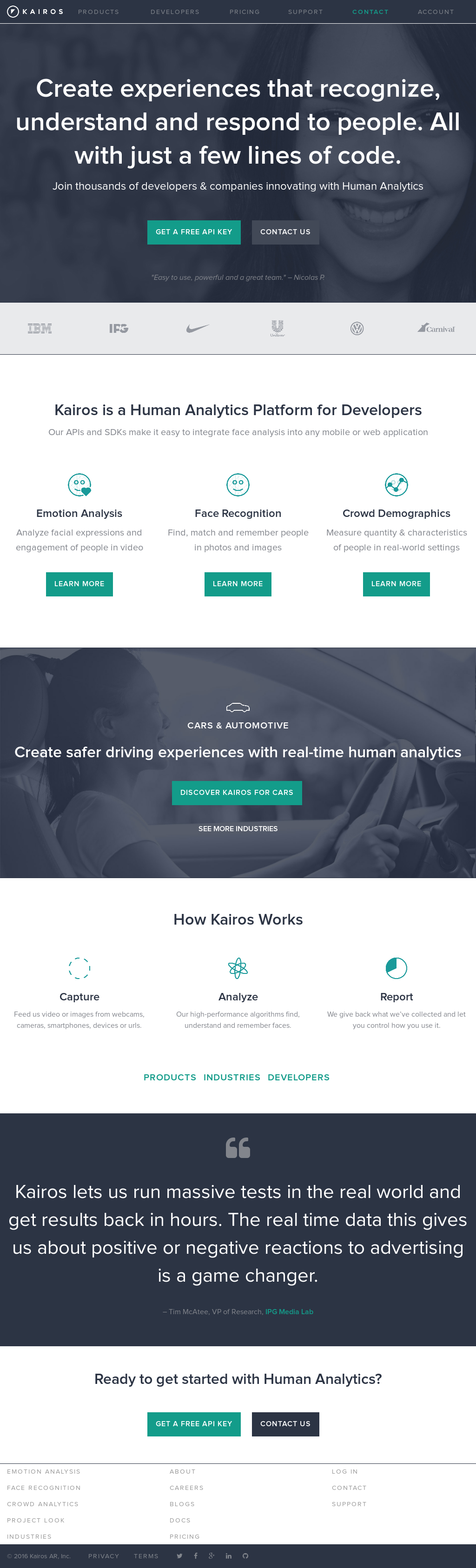 Kairos competitors revenue and employees owler company profile malvernweather Choice Image
