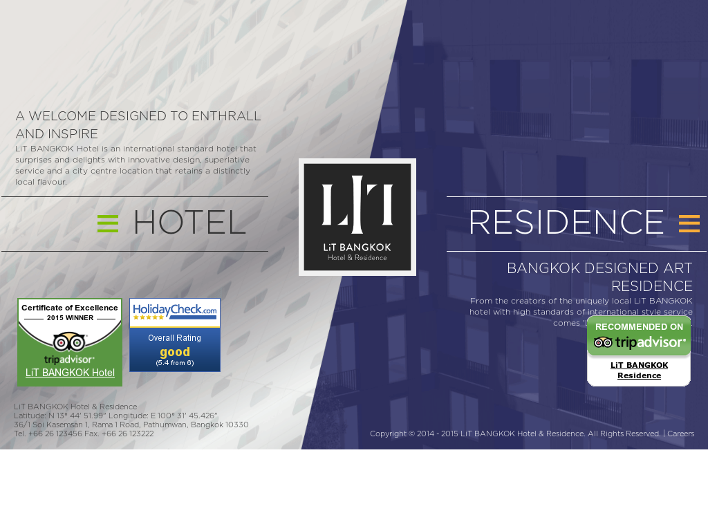 Lit Bangkok Hotel Residence Competitors Revenue And Employees - Lit design 2015