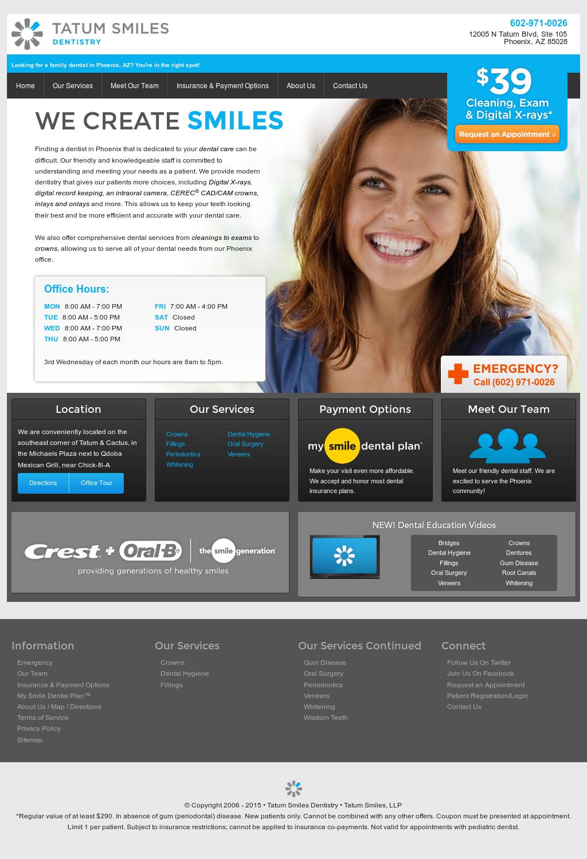 Tatum Smiles Competitors, Revenue and Employees - Owler