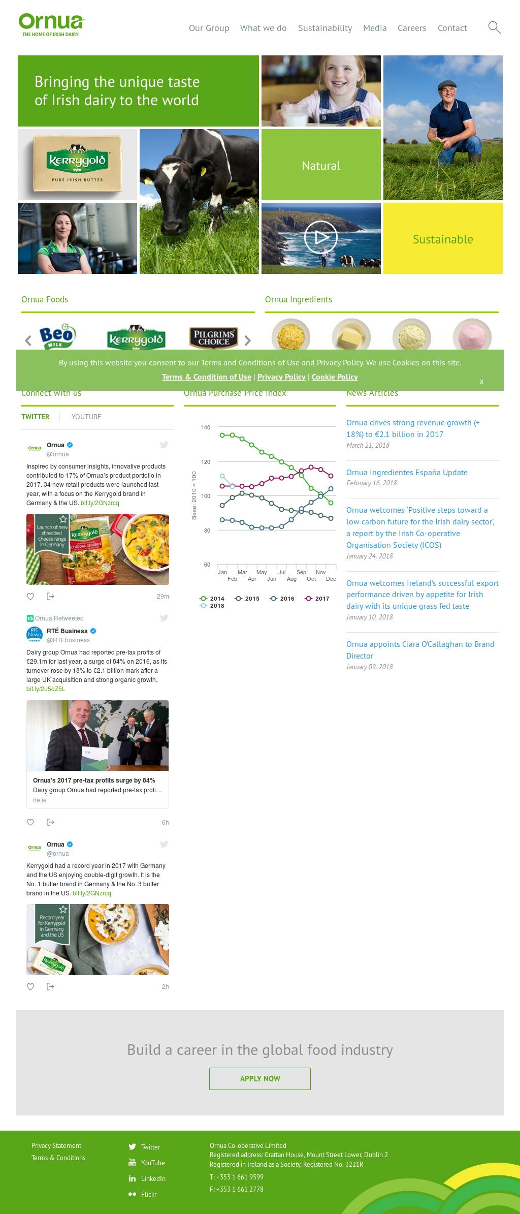 Ornua Competitors, Revenue and Employees - Owler Company Profile