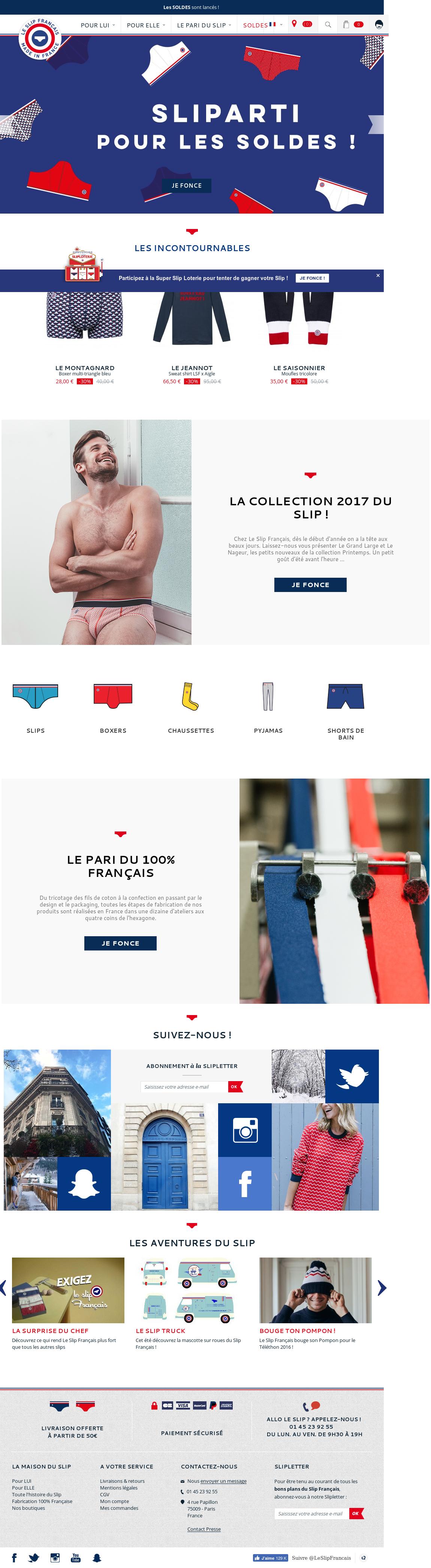 bd62e675816 Le Slip Francais Competitors