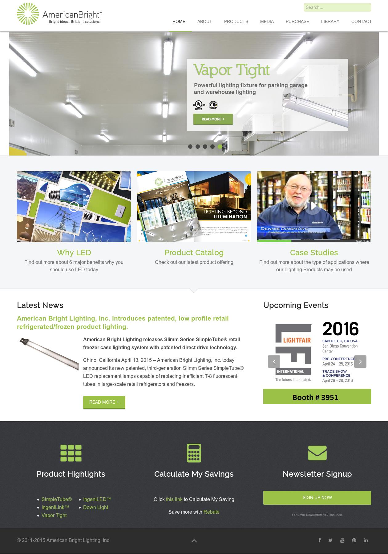 American Bright Lighting Compeors Revenue And Employees