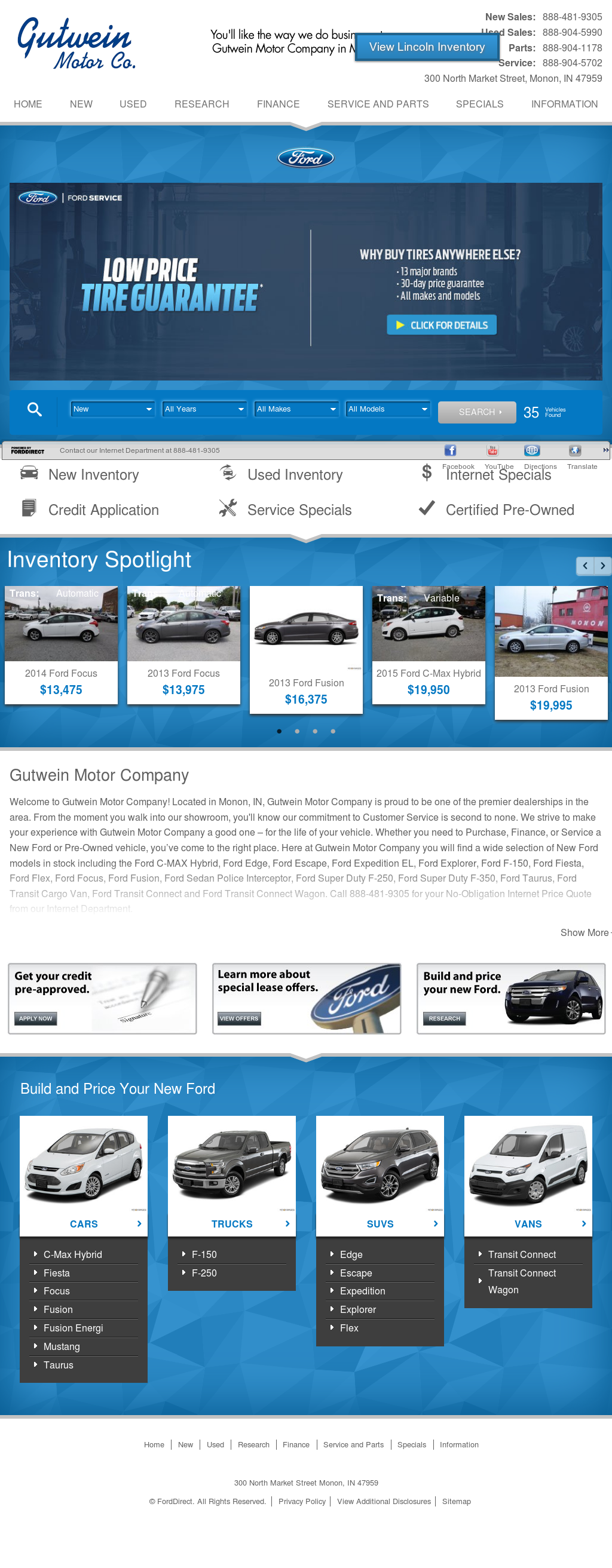gutwein motor competitors revenue and employees owler ForGutwein Motors Monon Indiana