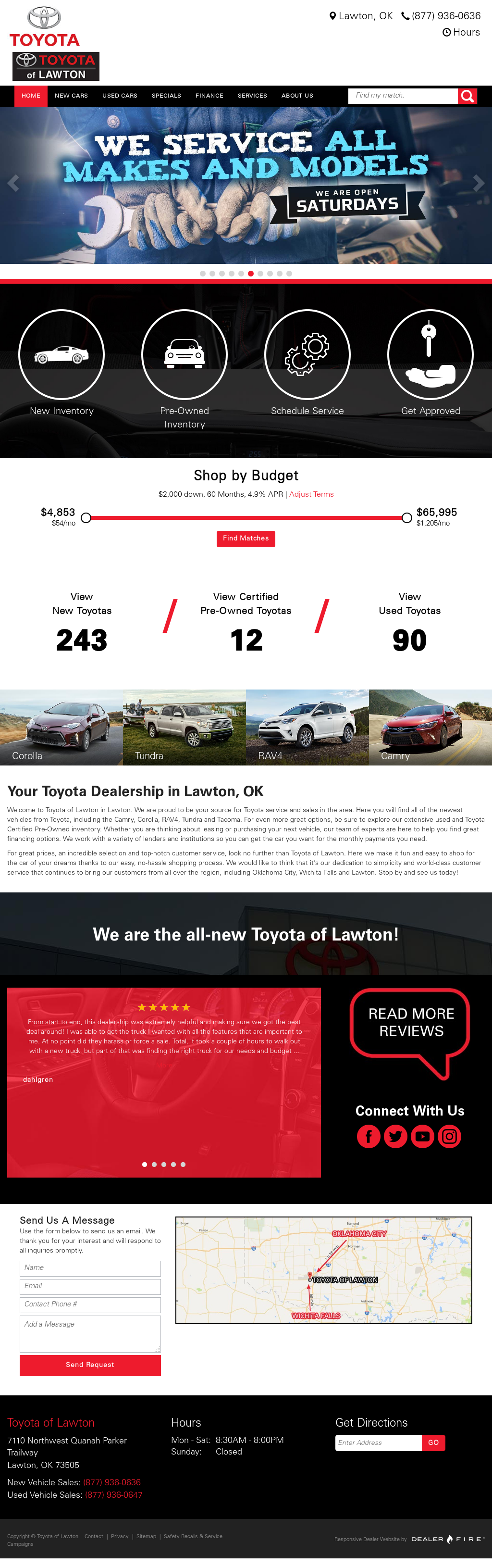 Charming Jim Norton Toyota Of Lawton Website History