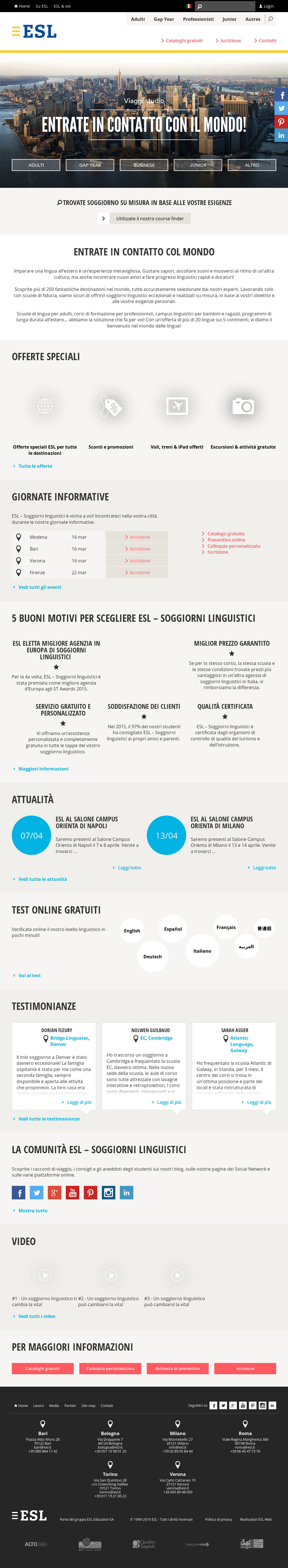 Esl - Soggiorni Linguistici Competitors, Revenue and ...