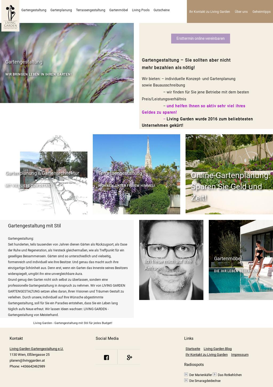 living garden gartengestaltung competitors revenue and. Black Bedroom Furniture Sets. Home Design Ideas