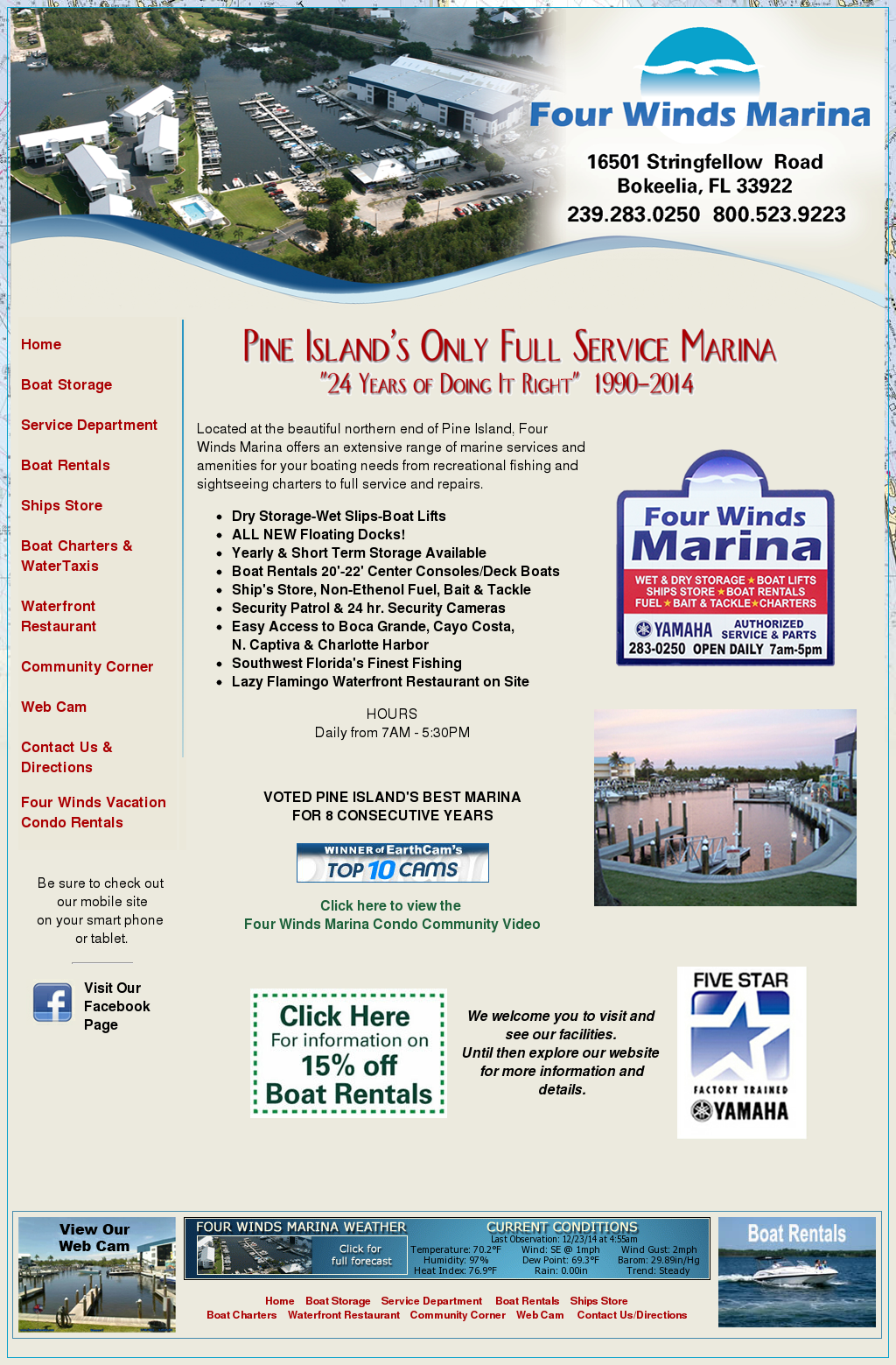 Four Winds Marina Competitors, Revenue and Employees - Owler