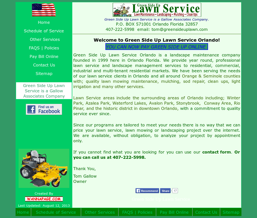 Green Side Up Lawn Service Competitors, Revenue and Employees - Owler  Company Profile - Green Side Up Lawn Service Competitors, Revenue And Employees