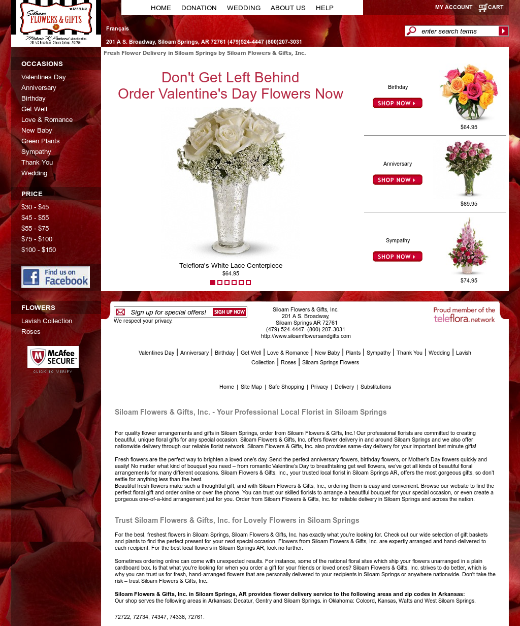 Siloam Flowers Gifts Competitors Revenue And Employees Owler