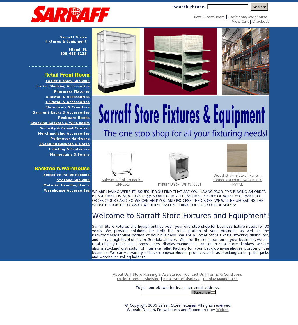 Sarraff Store Fixtures Competitors Revenue And Employees