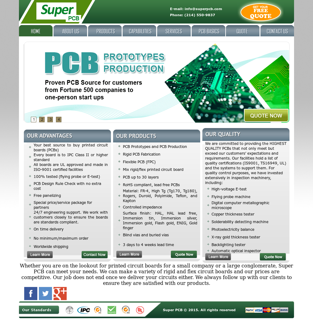 Super Pcb Competitors, Revenue and Employees - Owler Company Profile