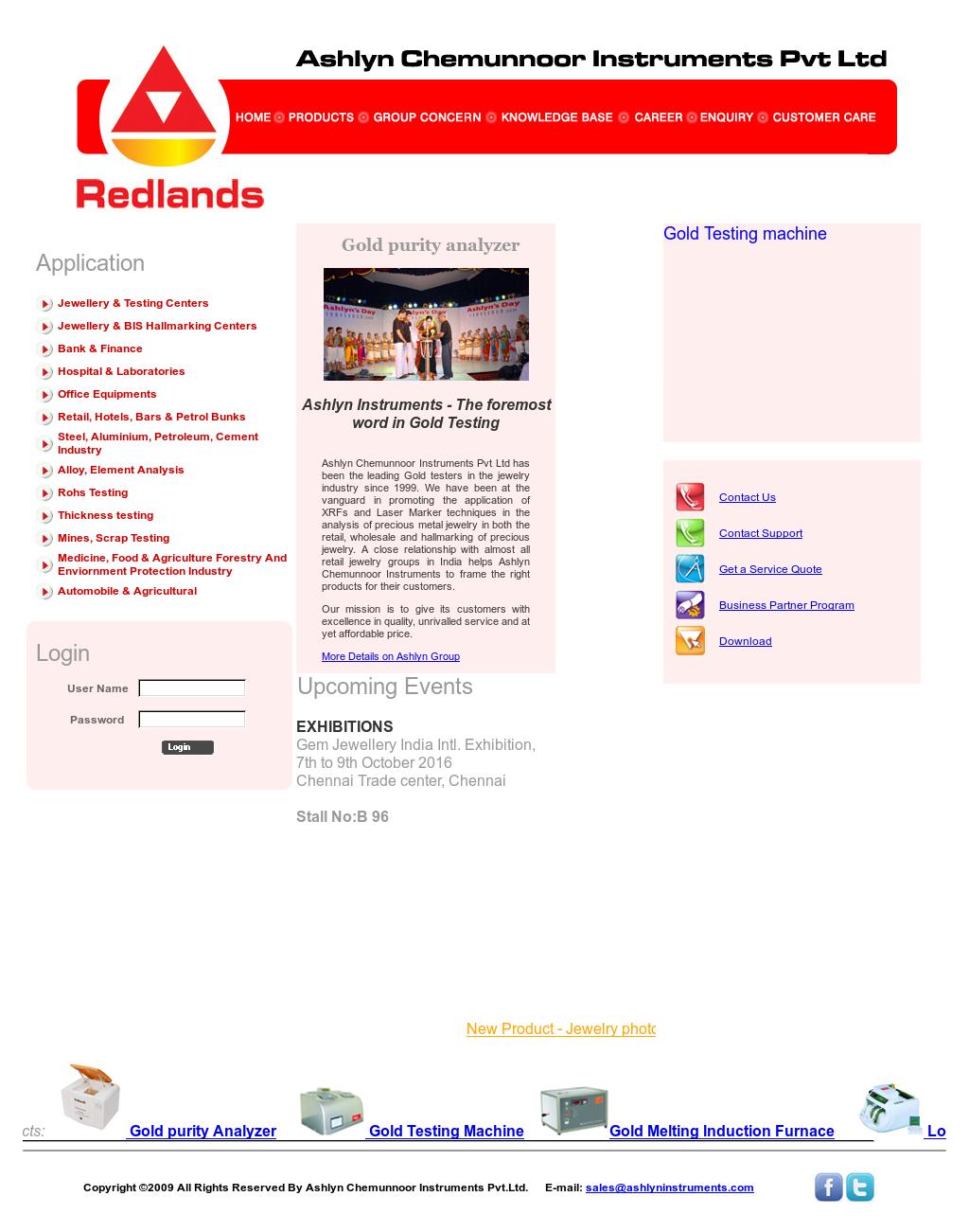 Ashlyn Chemunnoor Instruments Competitors, Revenue and