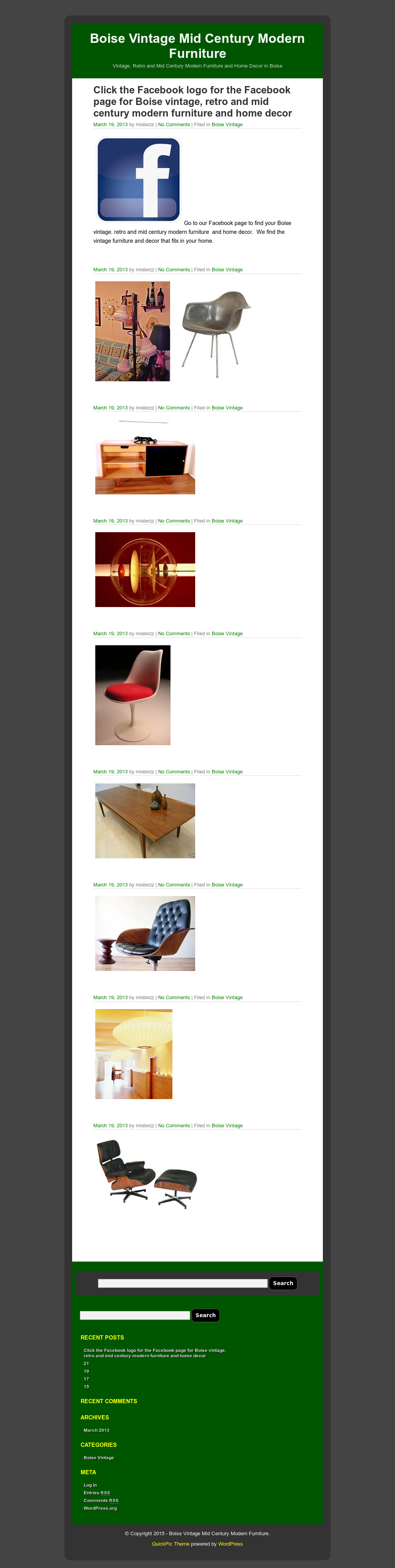 Boise vintage mid century modern furniture competitors revenue and employees owler company profile