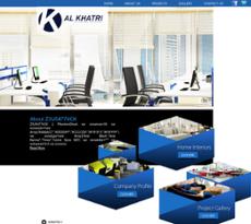 Apr 2017. Al Khatri Interiors Website History. Al Khatri Interiors  Screenshot