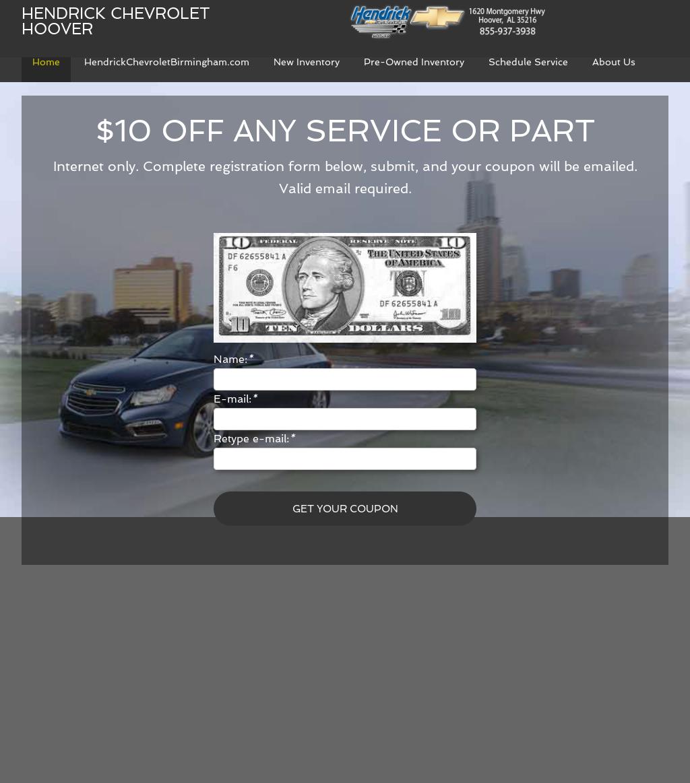 Hendrick Chevrolet Hoover Al >> Hendrick Chevrolet Hoover Competitors Revenue And Employees