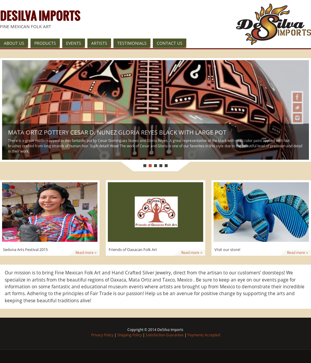 Desilva Imports Mexican Folk Art Competitors, Revenue and