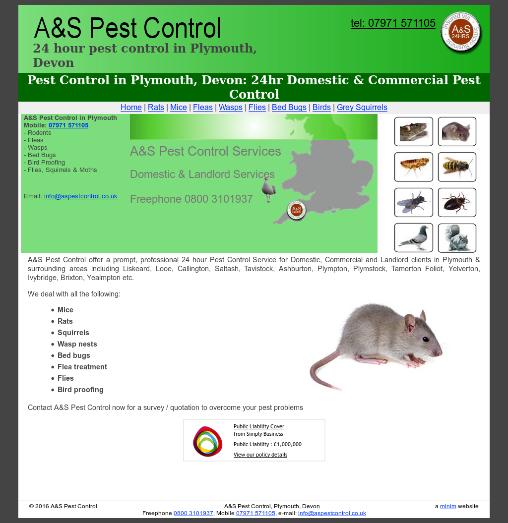 A&s Pest Control Service Competitors, Revenue and Employees