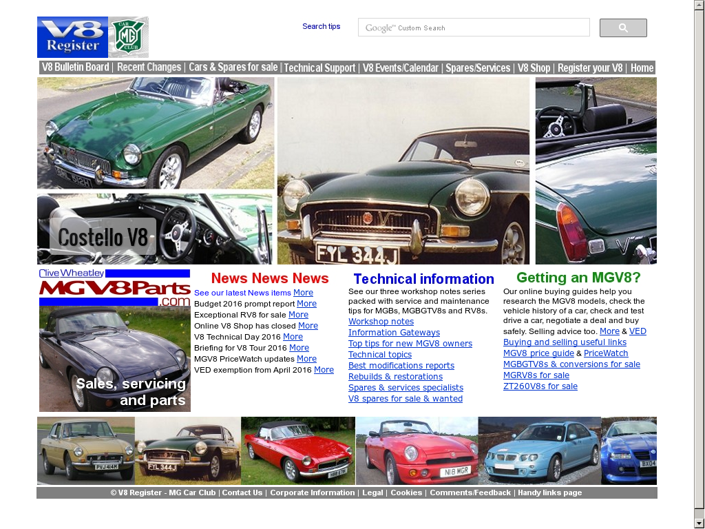 V8 Register Mg Car Club Competitors Revenue And Employees Owler
