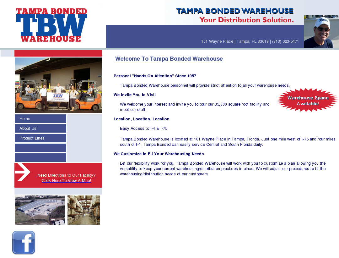 Tampa Bonded Warehouse Competitors, Revenue and Employees - Owler